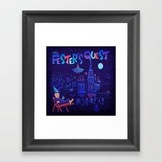 Fester's Uncle Quest Framed Art Print