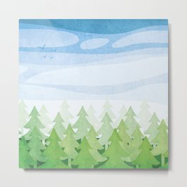 Kawartha Forest Metal Print