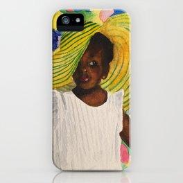 Miss Lauren iPhone Case