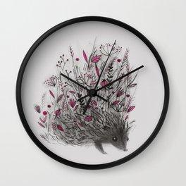 HEDGEHOG (grey) Wall Clock