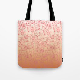 Coral Shells Tote Bag