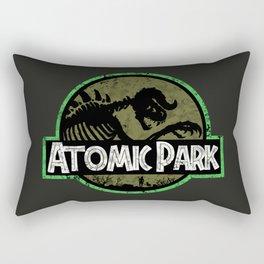 Atomic Park - Life, uh..finds a way Rectangular Pillow