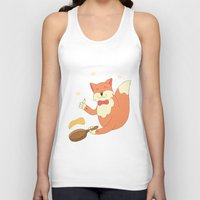 cook Tank Tops featuring cook pancakes by 1ena