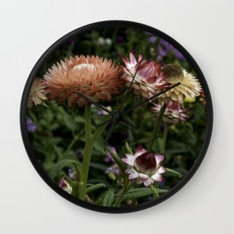 Color Therapy with Nature Wall Clock