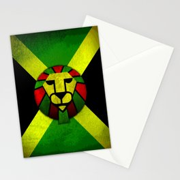 Rasta Lion. Stationery Cards