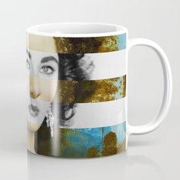 "Leonardo Da Vinci's ""Portrait of Ginevra Benci"" & Elizabeth Taylor Coffee Mug"