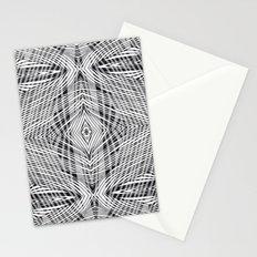 stripe power Stationery Cards