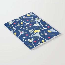 Blue Martinis Notebook