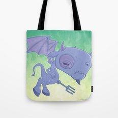 Pitchy Tote Bag