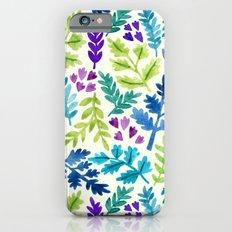 Floating Leaves iPhone 6s Slim Case