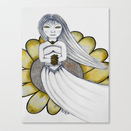 Daisy Girl by Saribelle Rodriguez Canvas Print