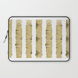 Tiki Totems – Gold Palette Laptop Sleeve