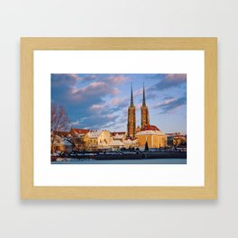 Wrocław Cathedral Framed Art Print
