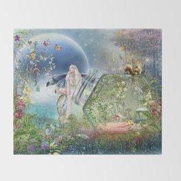 Butterfly Fairy Throw Blanket
