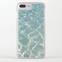 Dive Right In.... Clear iPhone Case