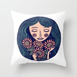Summerdream Throw Pillow