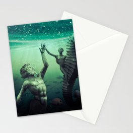 Gods of the Deep Stationery Cards