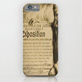 Advertisement cercle des arts et des lettres iPhone Case