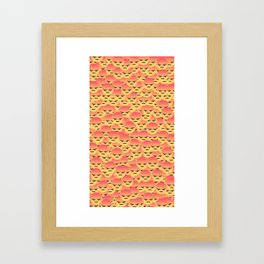 Only Grr Reactions Framed Art Print