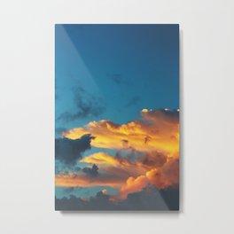 blaze Metal Print