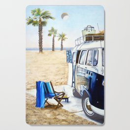HOLIDAY AT THE BEACH Cutting Board