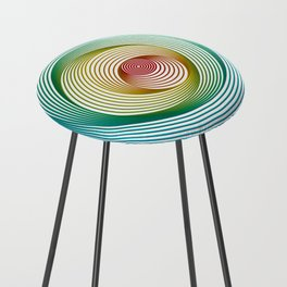 Shifting Circles Counter Stool