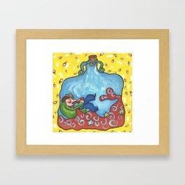 The Tippler From Little Prince Framed Art Print