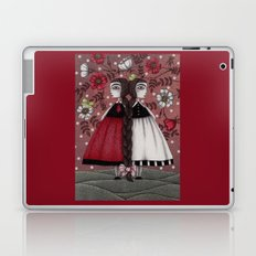 Snow-White and Rose-Red (1) Laptop & iPad Skin