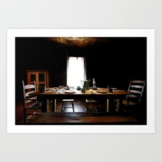 The Governor's Table Art Print