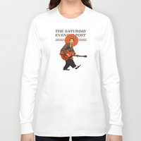 mcfly Long Sleeve T-shirts featuring Marty Mcfly by IF ONLY
