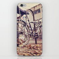 bicycle iPhone & iPod Skins featuring Bicycle by iD70my