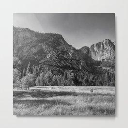 Yosemite Rocks II Metal Print