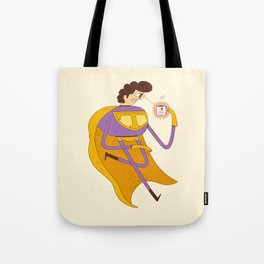 Man of Tea Tote Bag