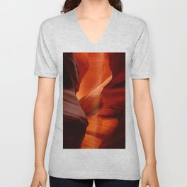 Marvelous Antelope Canyon Colors Unisex V-Neck