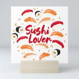 Sushi Lover Mini Art Print