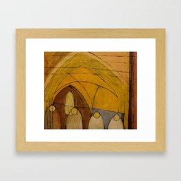 Worcester Cathedral. Framed Art Print