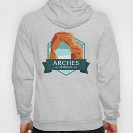 Arches National Park Graphic Badge Hoody
