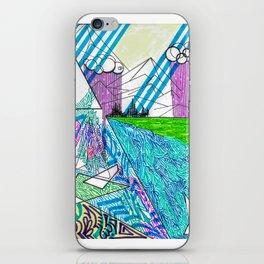 landscape of wonder iPhone Skin