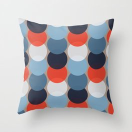 MCM Cirkel Throw Pillow