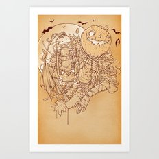 Early Halloween Art Print