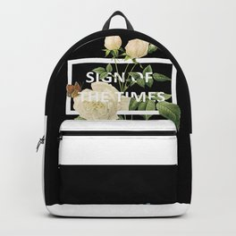 Harry Styles Sign Of The Times graphic design Backpack