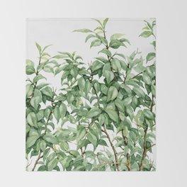 botanic Throw Blanket