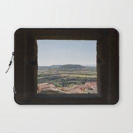 Peek Through Landscape in Basque Country, Spain #2 - Fine Art Photo Print Laptop Sleeve