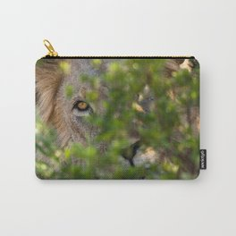 Peekaboo - A Lion Appears Carry-All Pouch