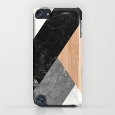 Marble and Wood Abstract Slim Case iPod touch