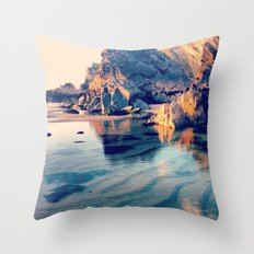 Crystal Clear, Beautiful Air Throw Pillow