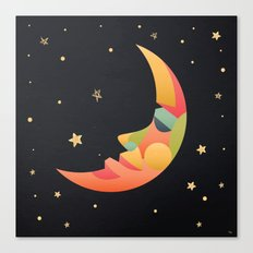Imaginative Moon Canvas Print