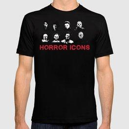 hORROR iCONS T-shirt