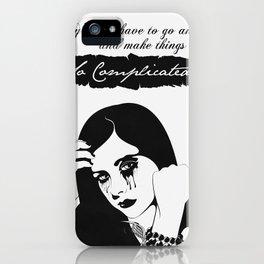 Avril Lavigne iPhone Case