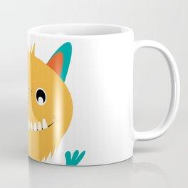 Sweet monster and alphabet Coffee Mug